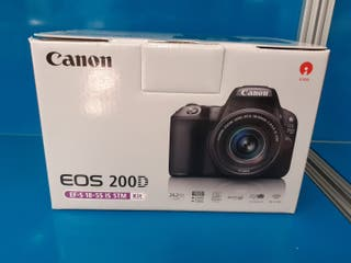 canon eos 200d efs 18-55 is stm +sd 16gb