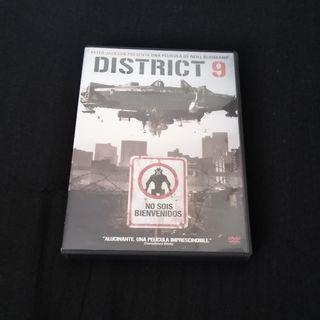 Distrito 9 DVD