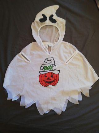 Disfraz Halloween hasta 3 años, fantasma.