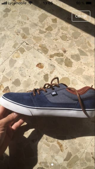 Zapatos marca DC nuevos