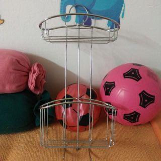 cesta para colgar en ducha