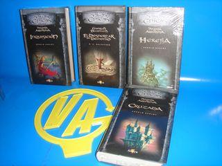 4 libros SAGAS EPICAS- Herejia Y MAS....