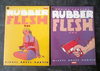 2 Cómics Rubber Flesh 1 y 2 - M. A. Martín