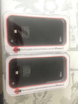 Carcasa cargador 2200mAh iPhone 5