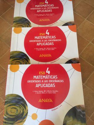 Matemáticas orientadas a las enseñanzas aplicadas