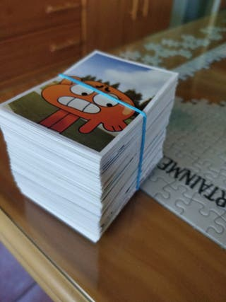 Lote cromos The Amazing world of Gumball