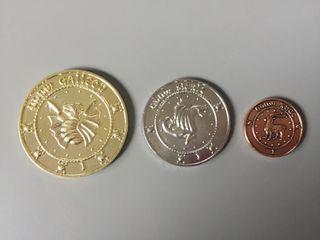 Pack monedas Gringotts de Harry Potter