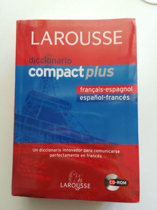 Diccionario Francés. La rousse. Compactplus