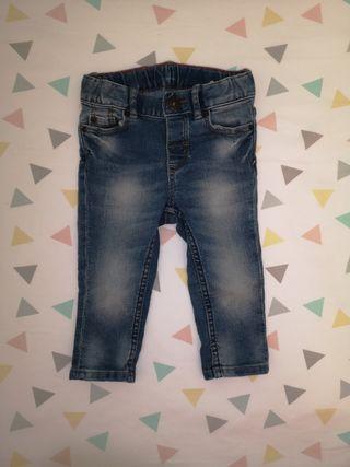 Jeans H&M t. 68cm (4-6 meses)