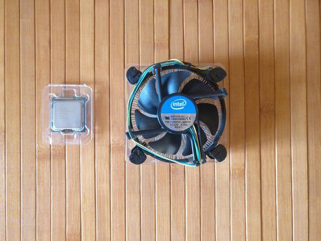 Procesador Intel i5-3570 y disipador (LGA1155)