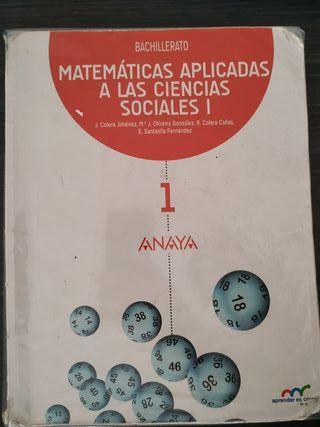 Libro matemáticas aplicadas