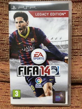 FIFA 14 para PSP