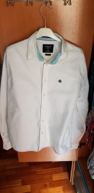 Camisa blanca invierno