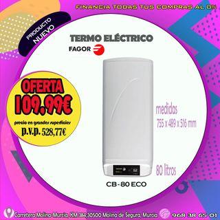 TERMO ELÉCTRICO FAGOR CB-80 ECO