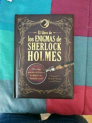 Libro de loa Enigmas de Sherlock Holmes