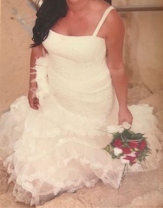 Vestido Ladera Novia de Manuel Mota 2007