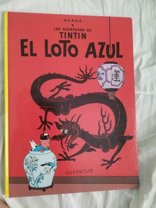 las aventuras de Tintín el loto azul