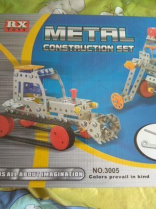 juego metal construcción set