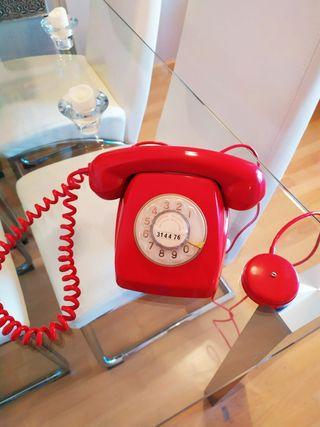 Teléfono Heraldo antiguo vintage