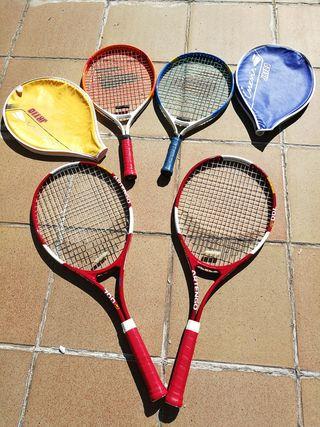 Raquetas de Tenis (Niños y adultos)