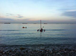 Kayak Trimarán Hobie Mirage Adventure Island