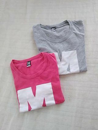 Lote 2 camisetas VAZVA S Y M