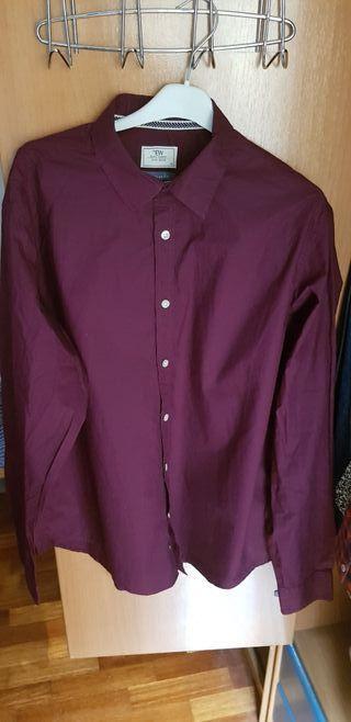 Camisa Vinotinto