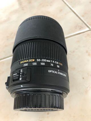 Objetivo Sigma 50-200mm