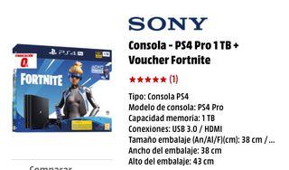 Play stacion PS4. Pro. 1TB