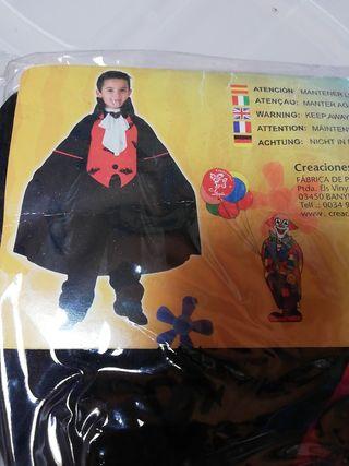 Disfraz Halloween Drácula