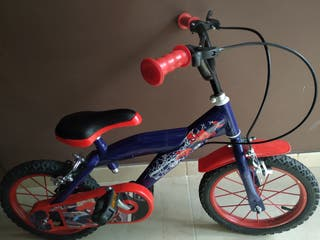 Bicicleta niño Spiderman 14''