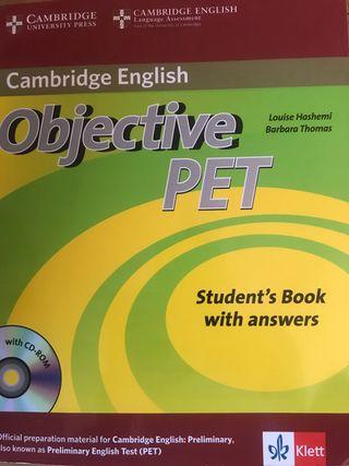 Objetive PET. Cambridge English