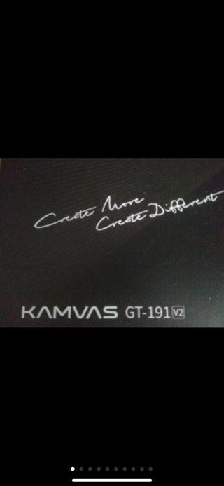 Tableta gráfica Huion Kamuas GT-191V2