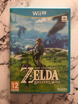 Zelda Breath of the Wild (WiiU)