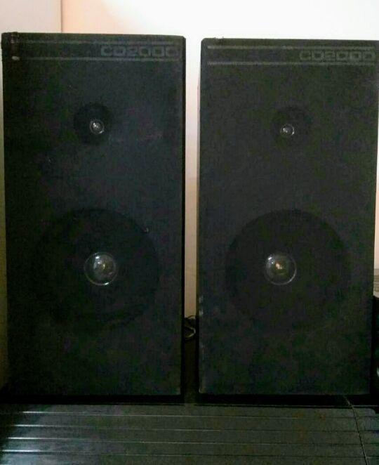 Altavoces CD2000