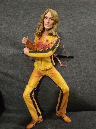 muñeco de coleccionista de kill Bill