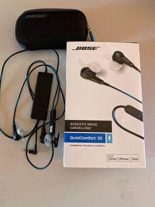 Auriculares Bose QuietComfort 20