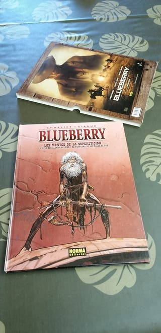 BLUEBERRY - Charlier y Giraud.