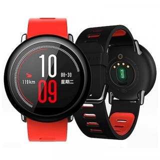 Smartwatch Xiaomi Amazfit Pace negro seminuevo