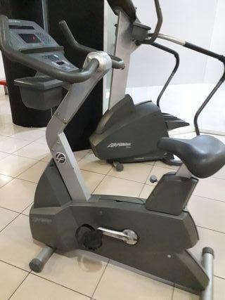 cinta step bici elíptica marca life fitness...se
