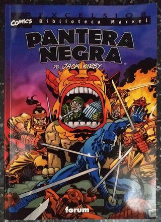 Biblioteca Marvel Pantera Negra