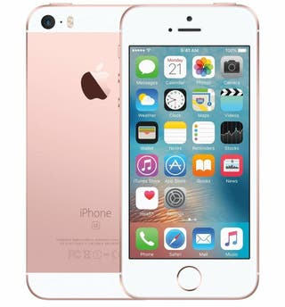 iPhone SE color rosa