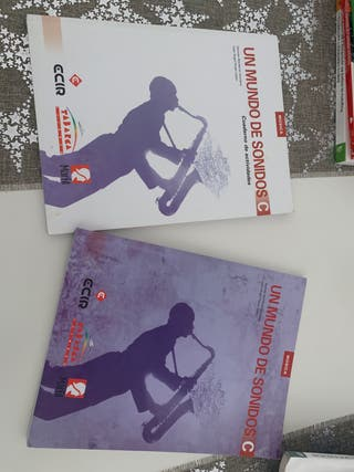 Set libros música 3ro ESO