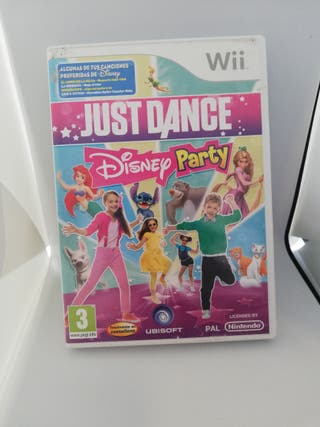 Just dance party disney wii
