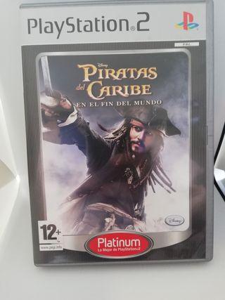 Los piratas del caribe ps2