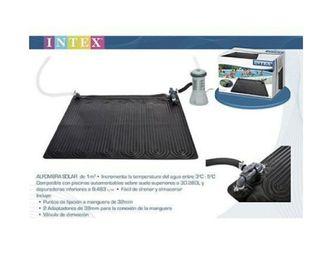 calentador solar para piscina Intex