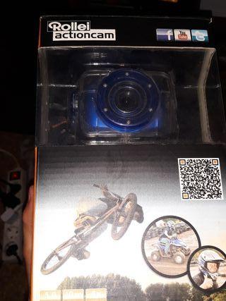 cámara acuática Rollei Actioncam