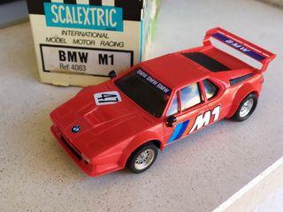 SCALEXTRIC BMW M1 primera serie