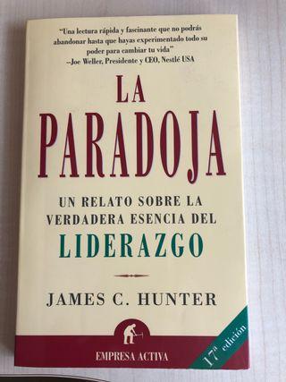 """Libro """" la paradoja """" nuevo"""
