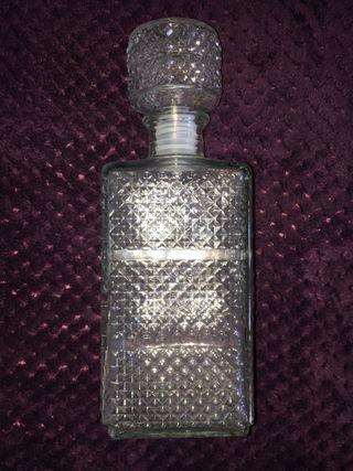 Botella licorera